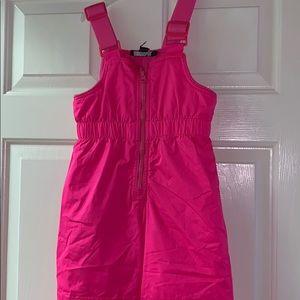 Other - Hot Pink Ski Bibs - Girls Size 4